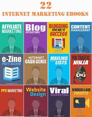 22 Internet Marketing EBooks
