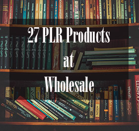 27 PLR Products Pack