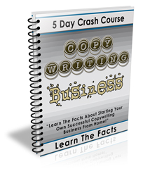 5 Day Crash Course Copy writing Business