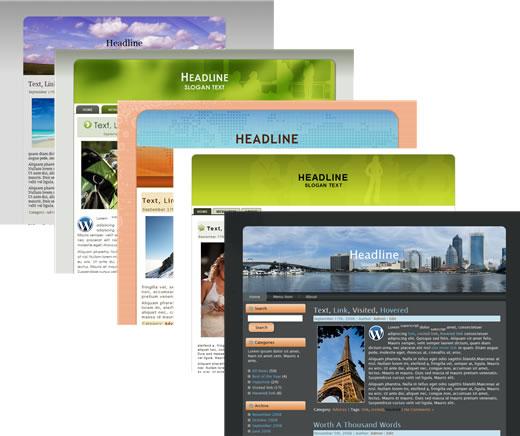 100 Exclusive WordPress Themes