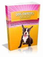 Cheap and Easy Delightful Dog Training