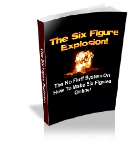 What is Special About The Six Figure Explosion?