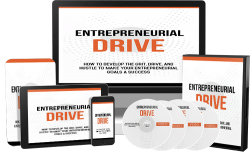 How To Develop Your Entrepreneurial Drive